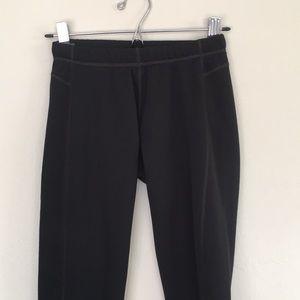 Marmot stretch fleece lined legging - women's S